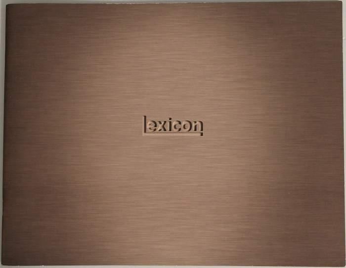 2005 Lexicon Catalog