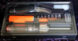 Lighted Utility Knife & Screwdriver Combination Kit