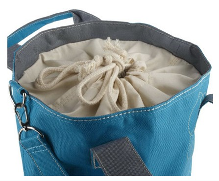 Blue Colored Lock & Lock 3-piece Storage Set with Tote QVC item K33167