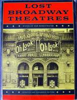 Lost Broadway Theaters (Softcover) by Nicholas van Hoogstraten