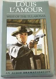 West of the Tularosas Louis L'Amour Abridged Audiobook Audio Cassette