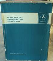 Mercedes Benz – Service Manual Model Year 1977 - Models 107, 116, 123 Published December 1976 - MB Order Number: 6540 5865