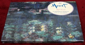 Monet Masterworks Notecards / Gift cards - Brand New Sealed in shrink-wrap