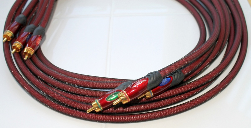 MONSTER ULTRA 800 THX Component Video Cables (8 feet)