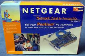 NETGEAR FA310TX Network Card for Pentium PCs Brand New Sealed in Factory Shrinkwrap!