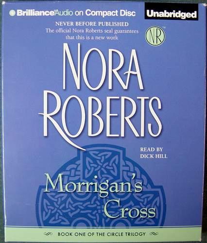 Morrigan's Cross AUDIOBOOK by Nora Roberts on 10 CDs