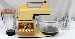 Vintage Oster Imperial Kitchen Center Model 966-04F Mixer Blender