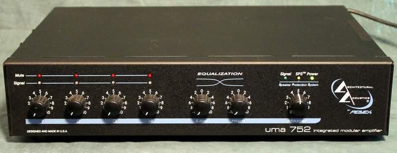 Peavey UMA 752 Integrated Modular Amplifier