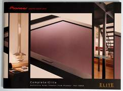 2003 Pioneer Elite 42-page Electronics Catalog