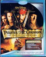Pirates of the Caribbean: The Curse of the Black Pearl Special Disney Blu-ray 2 Disc Set 2007