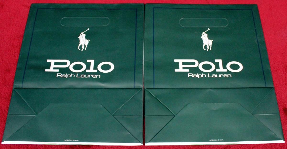 c2314f551b79 2 New Ralph Lauren Polo Gift Bags