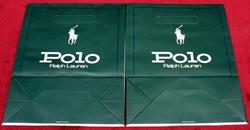 2 Ralph Lauren Polo Gift Bags Brand New