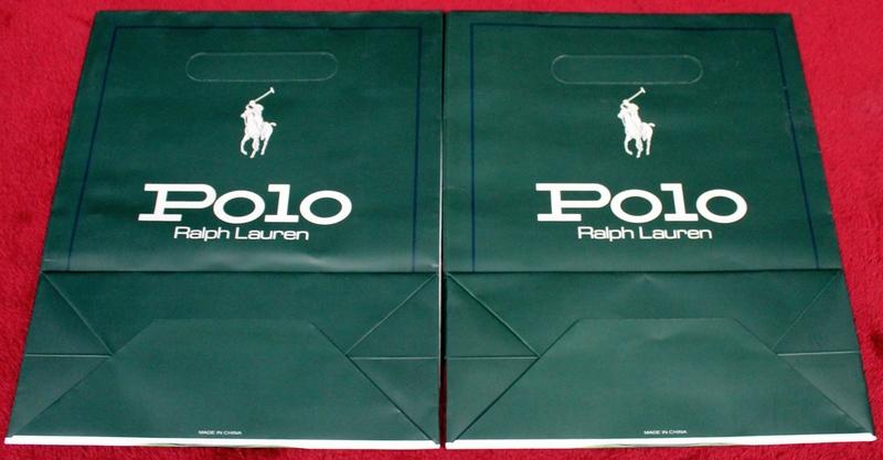 Ralph Lauren Polo Gift Bags