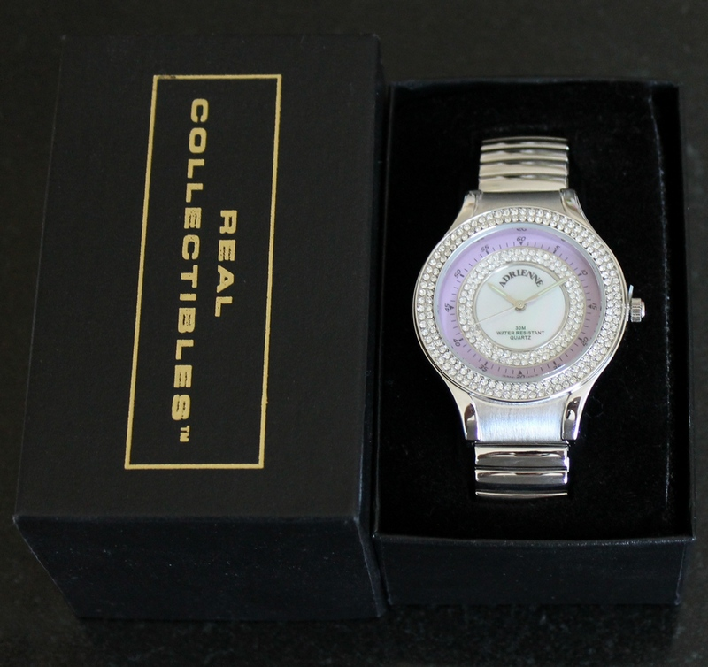 Real Collectibles by Adrienne Versatile Expandable Watch from HSN #936-421