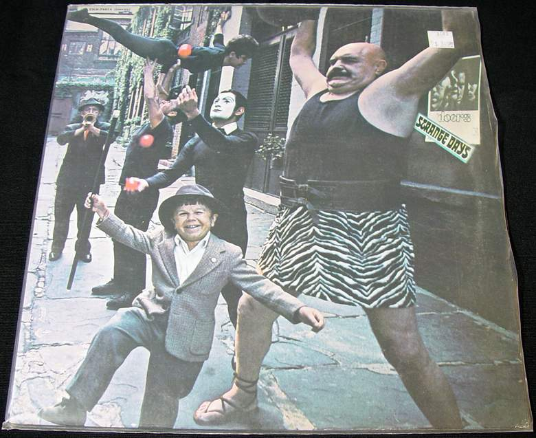 The Doors Strange Days LP on Elektra EKS-74014