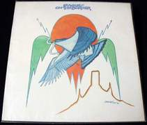 THE EAGLES On The Border LP 1974 ASYLUM RECORDS 7E-1004