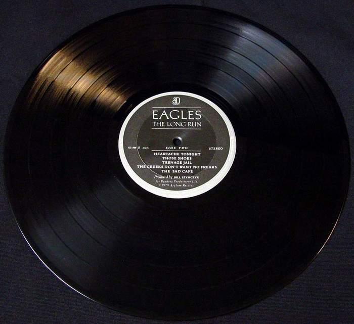 EAGLES – THE LONG RUN – ORIGINAL 1979 ASYLUM RECORDS STEREO LP 5E-508