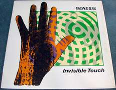 Genesis Invisible Touch Atlantic A1-81641 - Vinyl Near Mint - Virtually no scratches with Original Sleeve