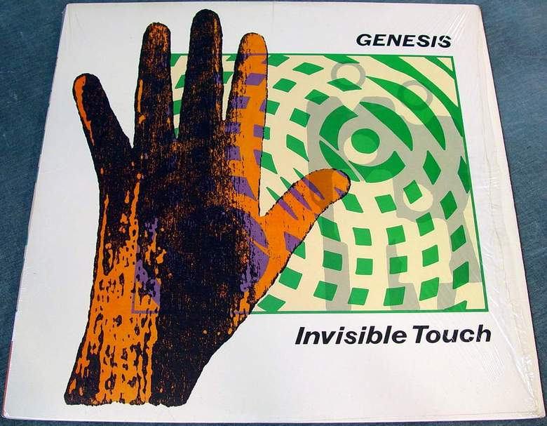 Genesis Invisible Touch Atlantic A1-81641 Vinyl Near Mint Virtually no scratches with Orig Sleeve
