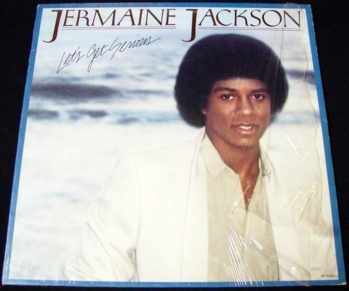 Jermaine Jackson - Let's Get Serious Album LP