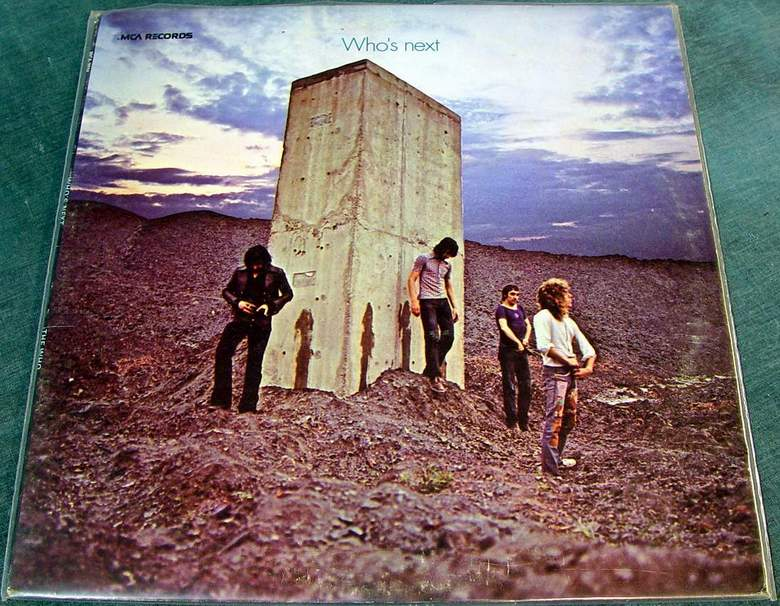 THE WHO - Who's Next LP MCA Records MCA-3024 Reissue