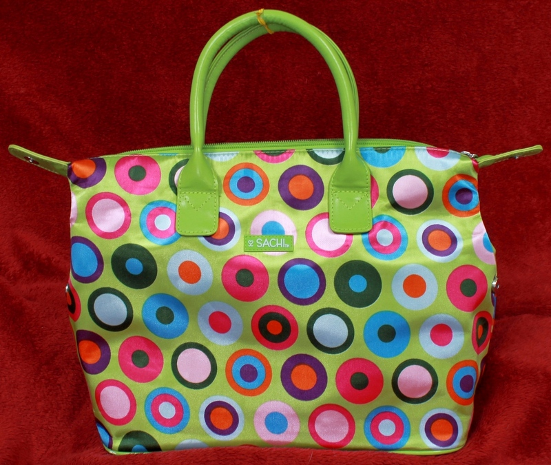 Sachi Luchin' Ladies Insulated Multi-Circle Lunch Tote