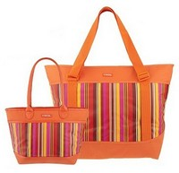 Sachi Lunchin' Ladies Insulated Tote Set QVC Item K28523