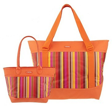 Sachi Lunchin' Ladies Insulated Tote Set - QVC Item K28523