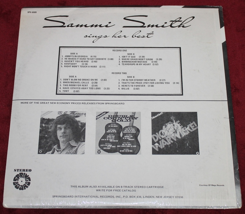 Sammi Smith Sings Her Best - Deluxe 2 Record Set - New Sealed Unopened