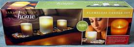 Sarah Peyton Home Flameless Candle Set Home Decor