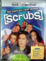 Scrubs - The Complete First Season 3-DVD Set Brand New in Factory Sealed Shrinkwrap
