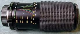 Sears 80-200mm 1:4.0 Multicoated Auto Zoom Camera Lens