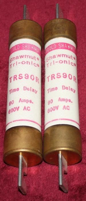 Shawmut Tri-onic TRS90R Time Delay Fuses