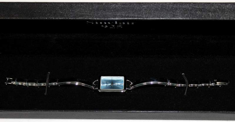 Sinclair 925 Sterling Link Watch and Bracelet