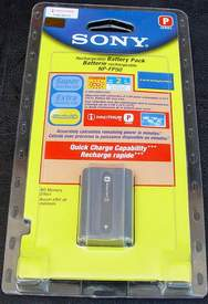 SONY NP-FP50 Rechargeable Battery Pack for Camcorder