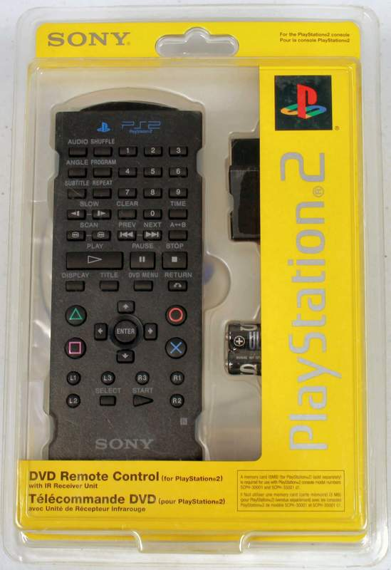SONY Playstation 2 – PS2 DVD Remote Control MODEL SCPH-10171 / 97042