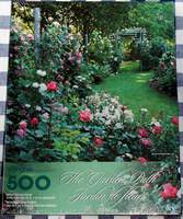 Springbok 500 piece Jigsaw Puzzle The Garden Path PZL2494