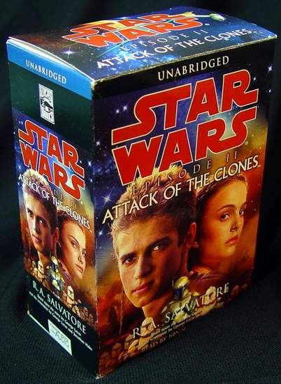 star wars episode ii attack of the clones audiobook unabridged