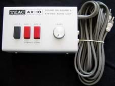 TEAC AX-10 SOUND ON SOUND ECHO UNIT