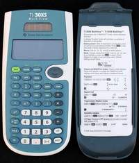 Texas Instruments TI-30XS MultiView Dual Power (Solar and Battery) Calculator