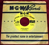 The Bachelors Special Disc Jockey Promo Copy K12668 - Teenage Memories - Sometimes - MGM Records