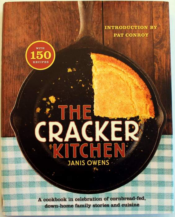 The Cracker Kitchen - Hardcover Cookbook by Janis Owens - with 150 Recipes - New - Signed by the Author