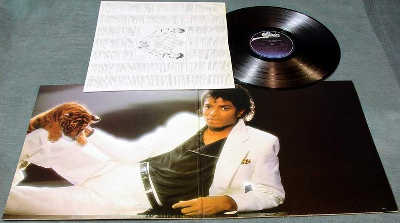 Michael Jackson Quot Thriller Quot Lp Record Album