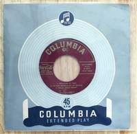 Tony Bennett 45 Extended Play with 6 songs Coca Cola Promo on Columbia Label kept in original cover inside a plastic sleeve