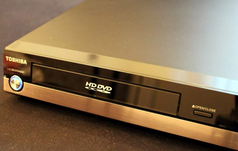 Front Panel of the Toshiba HD-A2KU HD DVD Player