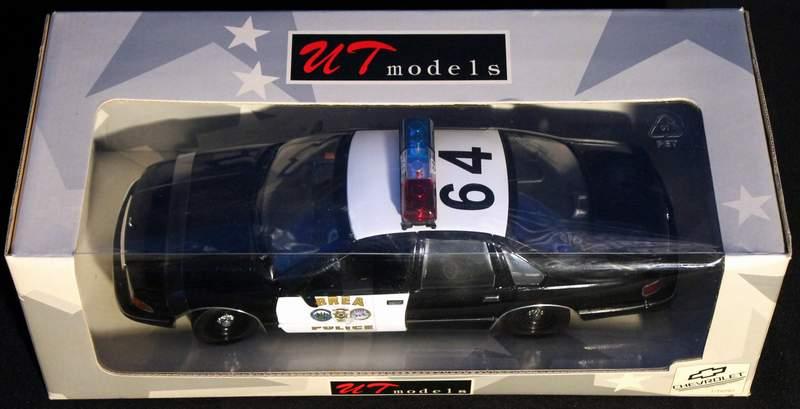 Brea Yorba Linda CA Police Chevy Caprice UT 1/18 Diecast UT0597 New in Box