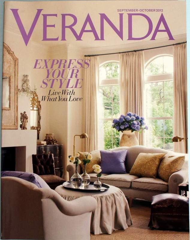VERANDA Magazine, September - October 2012 issue