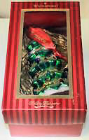 WATERFORD HEIRLOOMS 4 in. GLASS CHRISTMAS TREE ORNAMENT No.153721
