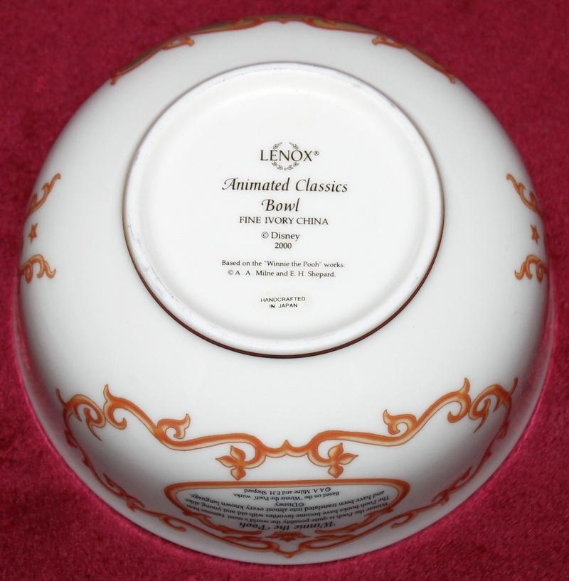 LENOX Animated Classics Bowl - Winnie The Pooh - Fine Ivory China
