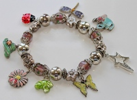 Wishing Charm Bracelet by Treasures and Trinkets from QVC